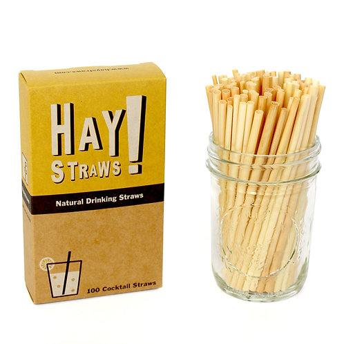 Hay Straws (100 Pack) - Mable