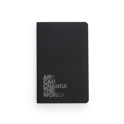 Denik Art Can Change The World Notebook