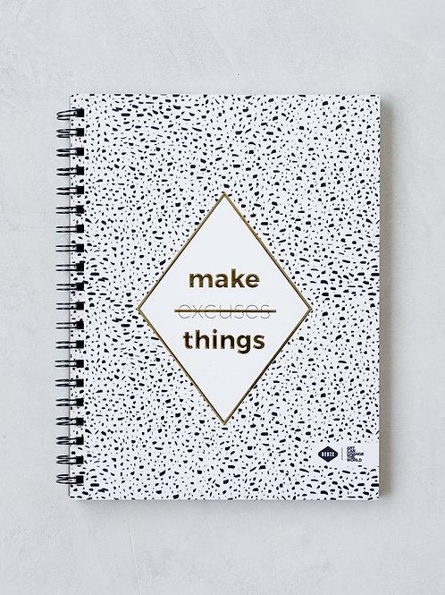 Denik Make Things Spiral Notebook