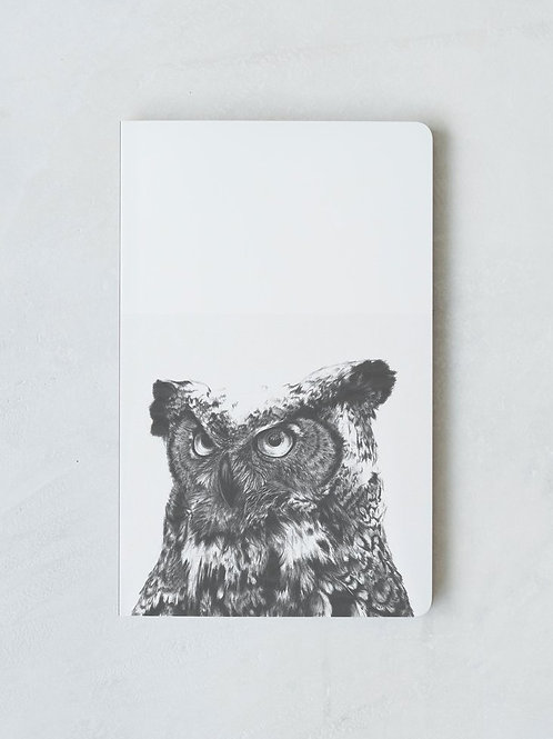 Denik Owl Notebook
