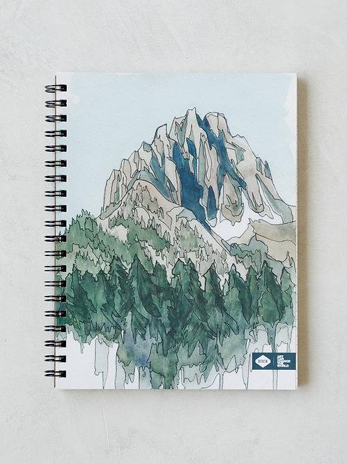 Denik Drawing Mountain Spiral Notebook