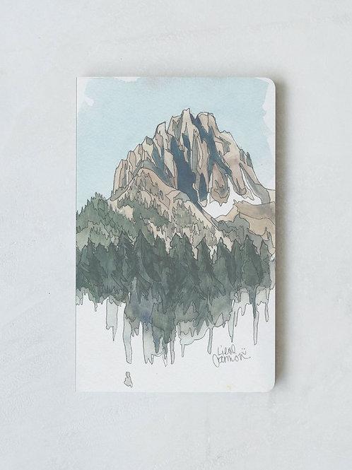 Denik Drawing Mountains Notebook