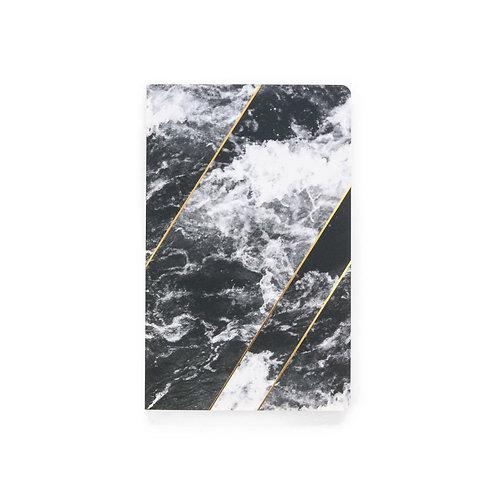 Denik Gold Waves Notebook