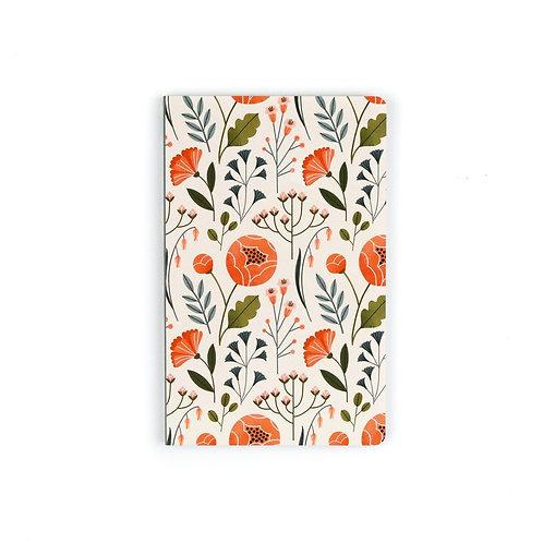 Denik Flowers Notebook