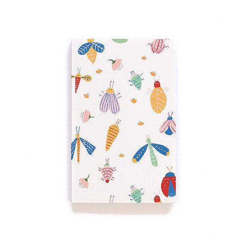 Denik Bugs Notebook