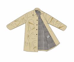 Liam Hodges AW20 Creased Coat