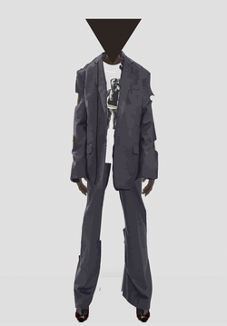 Liam Hodges AW20 Cut Out Tailored Suit