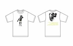 Liam Hodges AW20 White Print Naked Man T-shirt