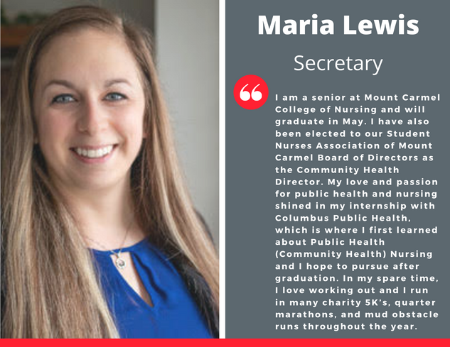 Secretary, Maria Lewis
