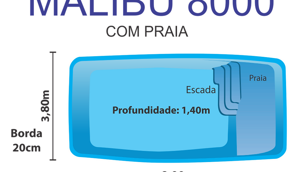 MALIBU 8000