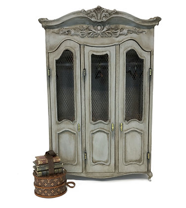 Large Armoire- Gustavian Grey