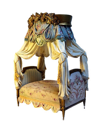 Made to Order- French Aubusson Bed