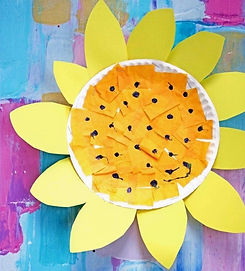paper-plate-sunflower-kid-craft-gluedtom