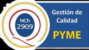 Norma de Gestión Pyme | NCh2909