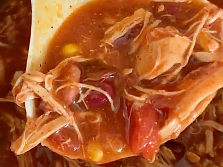 Instant Pot Shredded Chicken Chili (Gluten-free/Dairy-free)