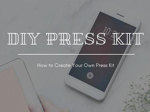 DIY Press Kit Package