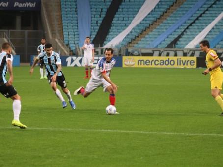 Série A: Bahia joga mal, é derrotado pelo Grêmio e se aproxima da zona de rebaixamento