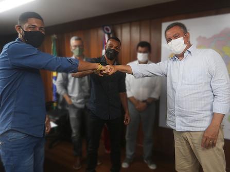 Governo do Estado quer apoiar pugilistas Hebert e Robson Conceição