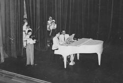 DARIZ family Casino Biarritz 1949