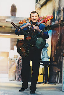 Multi Guitares lourd photo Franck Bénit