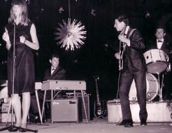 FRANCOISE HARDY 1963 JUAN LES PINS
