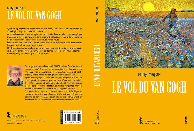 COUVERTURE VAN DEN EYNDE EMILIA - LE VOL
