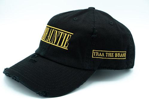 Distressed Black Zad Hat