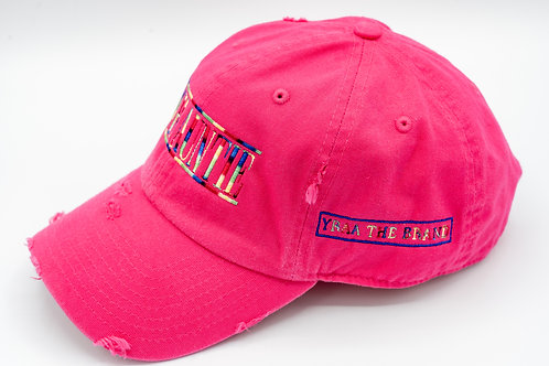 Distressed Limited Edition Pink Zad Hat