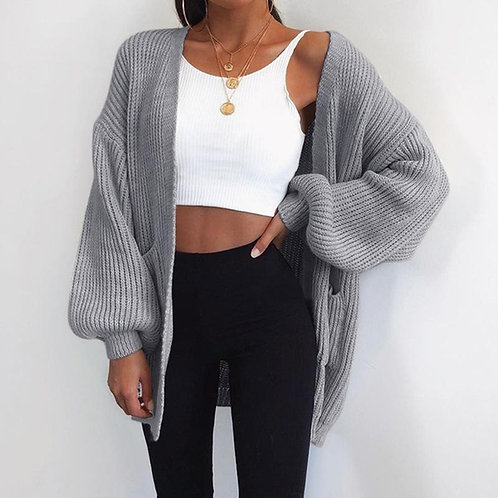 The Knitted Sweater Cardigan