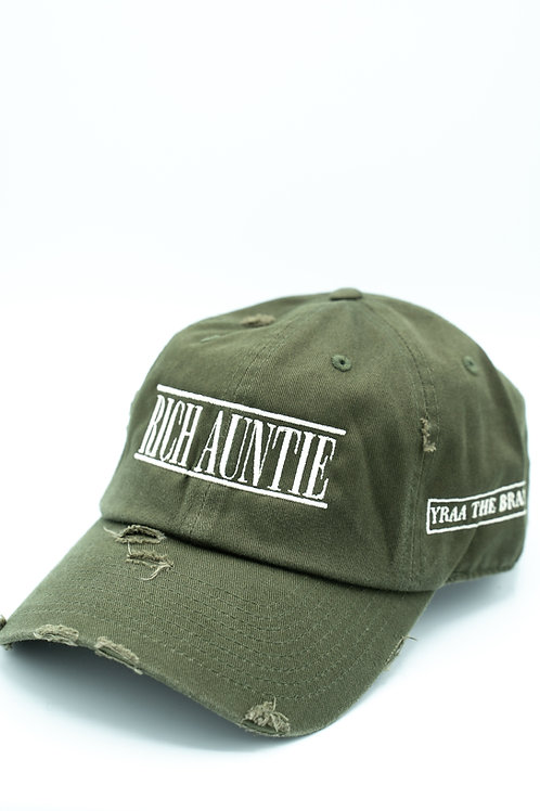 Distressed Green Zad Hat