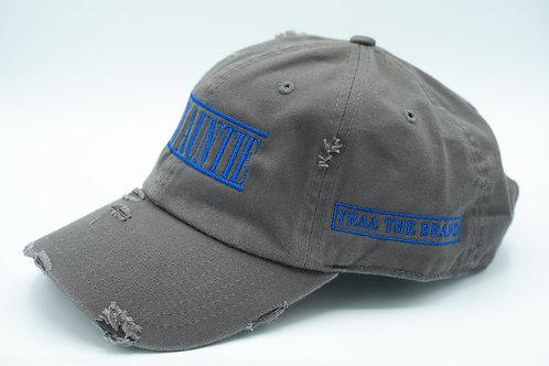 Distressed Gray Zad Hat