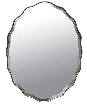 Bevelled Glass Ondulations Mirror