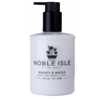Noble Isle Whisky and Water Hand Lotion