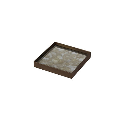 Ethnicraft Square Fossil Design Valet Tray
