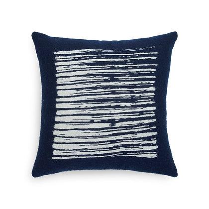 Ethnicraft Navy Lines cushion