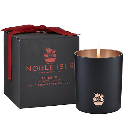 Noble Isle Fireside Fine Fragrance Scented  Candle