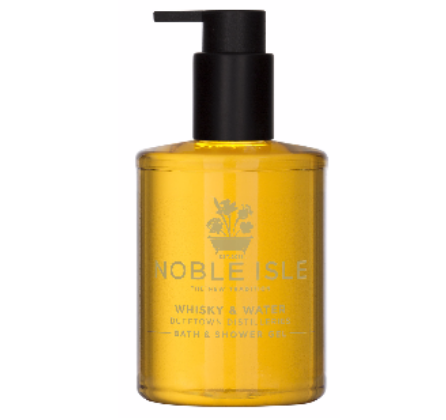 Noble Isle Whisky and Water Shower Gel