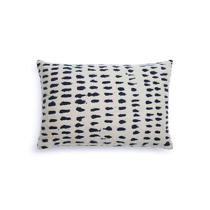 Ethnicraft White Dots cushion