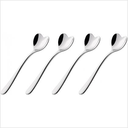 Alessi Set of 4 Big Love Coffee Spoon