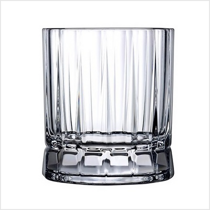 Set of 4 Lead Free Crystal Wayne Whisky Glasses