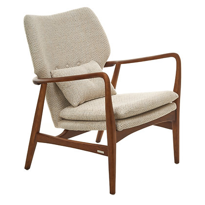 Pols Potten Rough Ecru Upholstered Peggy Chair