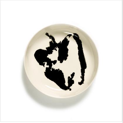 Feast by Ottolenghi Earthenware High Side Black Pepper Plate