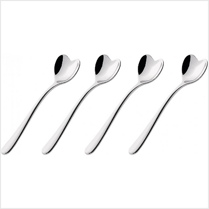 Set of 4 Big Love Ice Cream Spoons