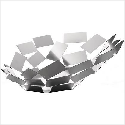 Alessi Polished Stainless Steel La Stanza dello Scirocco Centrepiece Bowl
