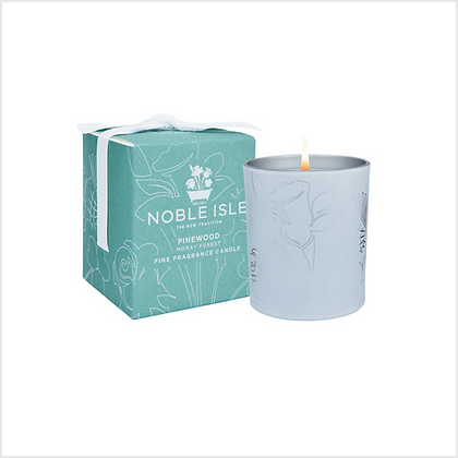 Noble Isle Pinewood Fine Fragrance Scented Candle