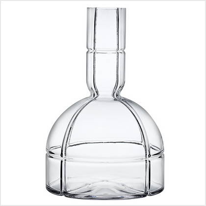 Small Lead Free Crystal 02 Wine Carafe