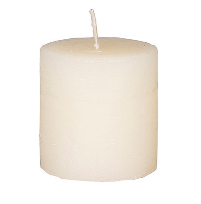Broste Rustic Pillar Candle 6x6cm