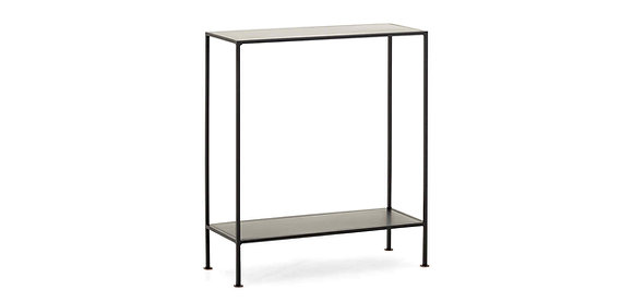 Flamant Black Metal Console Table