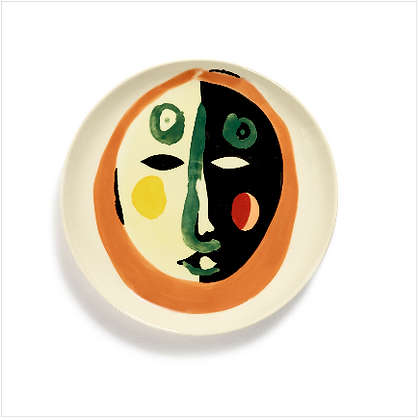 Feast by Ottolenghi Medium Earthenware Face No 1 Plate