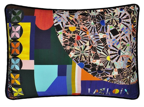 Christian Lacroix Mosaic Freak Multicolore Cushion